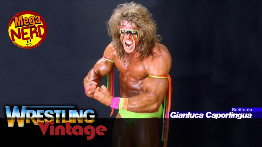 wrestling vintage ultimate warrior