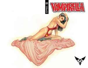 Vampirella #1 regular, copertina di Frank Cho