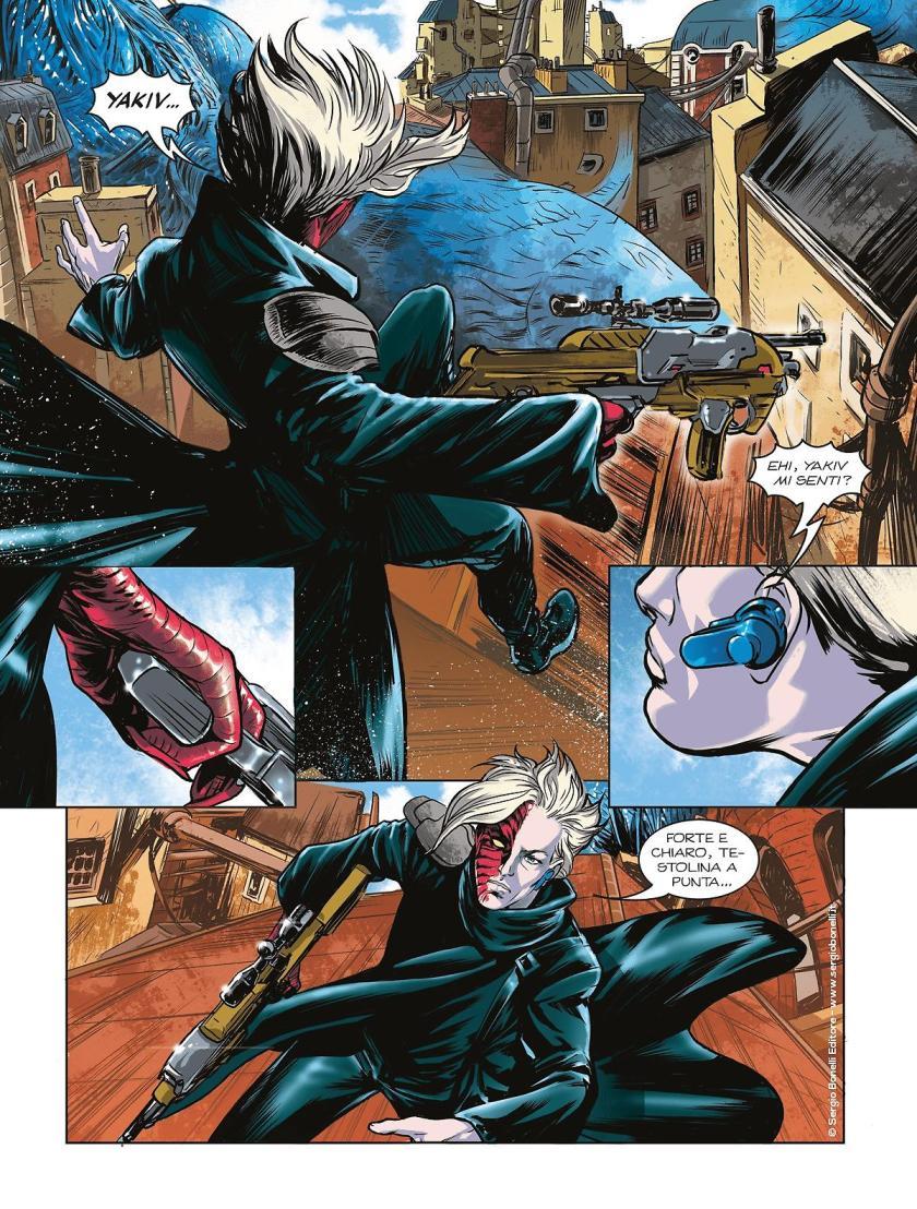 Odessa n. 1: Dopo la fusione – Recensione del nuovo fumetto Bonelli