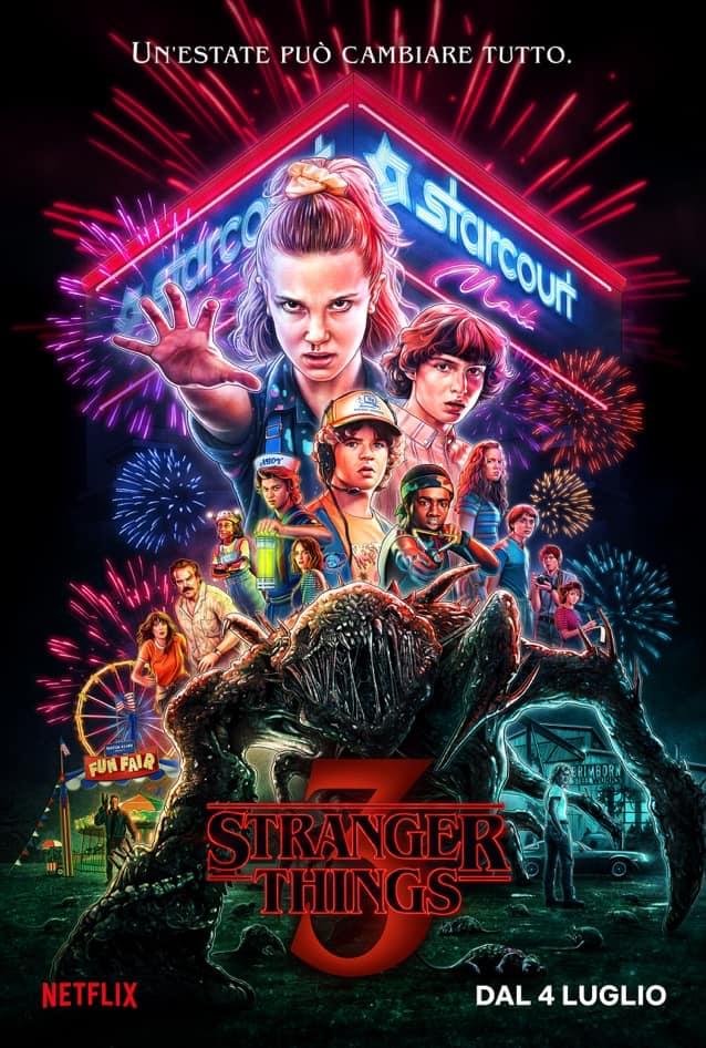 Stranger Things – Ecco il poster finale della terza stagione