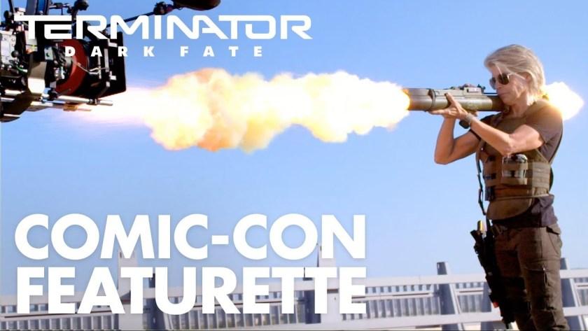 Terminator: Dark Fate- Nuovo video dietro le quinte dal SDCC