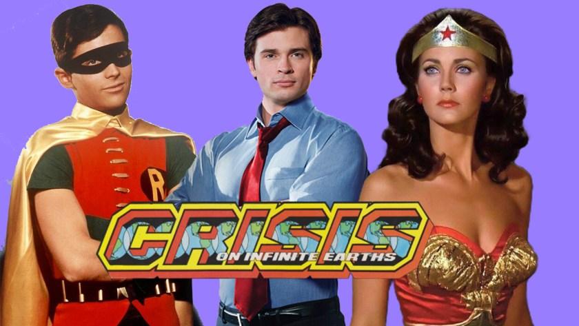 Crisi sulle Terre Infinite – Nel cast anche Burt Ward, Tom Welling e Lynda Carter?
