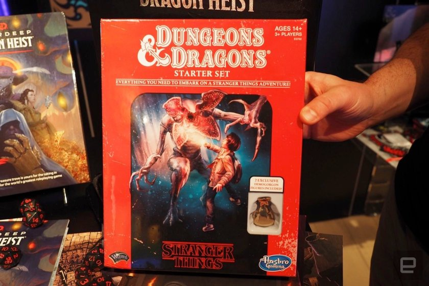 Stranger Things – In arrivo il Dungeons & Dragons Starter Set speciale