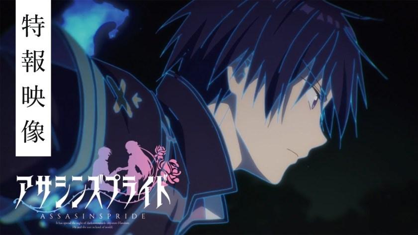 Assassin's Pride – Ecco trailer e cast della serie anime