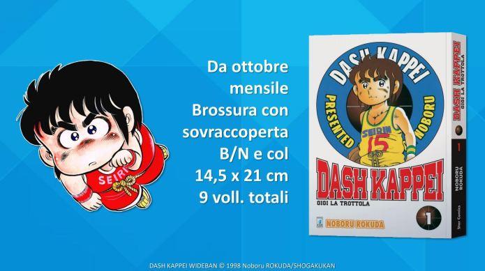 Dash Kappei nuova edizione Star Comics