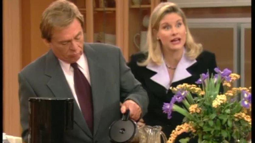 Niles e C.C. in una scena dello show