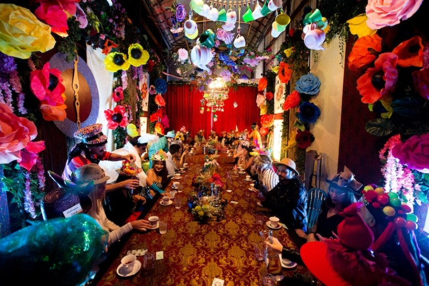 mad hatter's gin & tea party