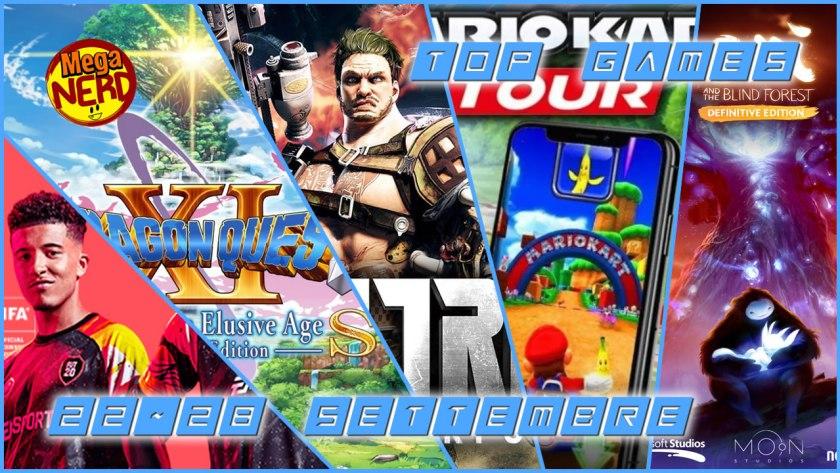 Top Games 22-28 Settembre