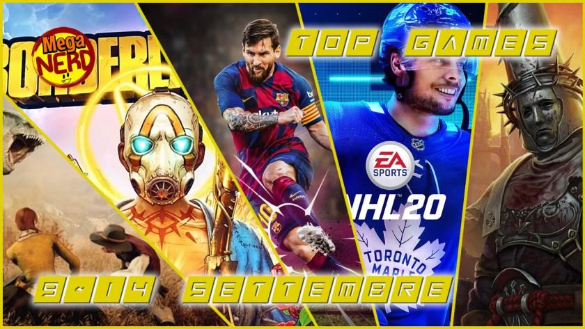 Top Games 9-14 Settembre