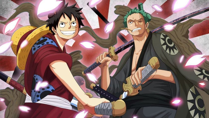 One Piece, Rufy e Zoro