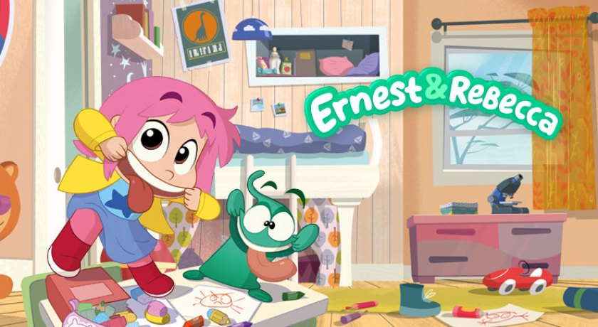 Ernest e Rebecca serie tv