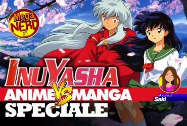 speciale inuyasha anime vs manga