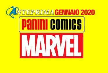 panini marvel italia gennaio 2020
