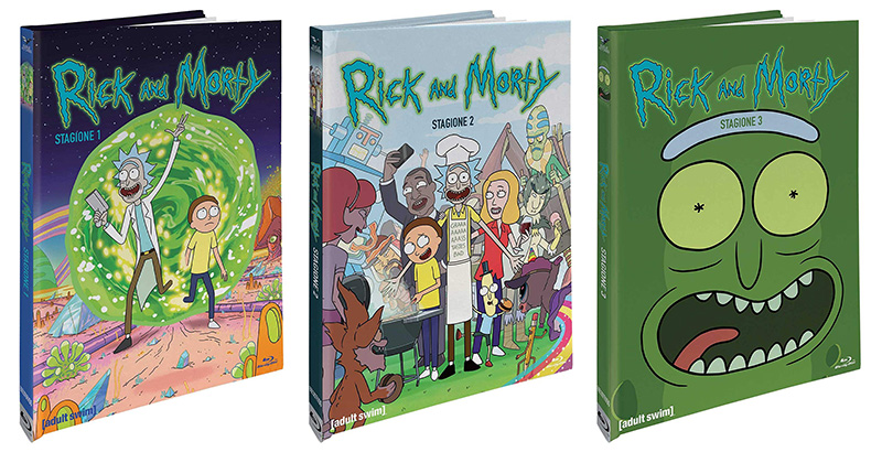rick and morty blue ray