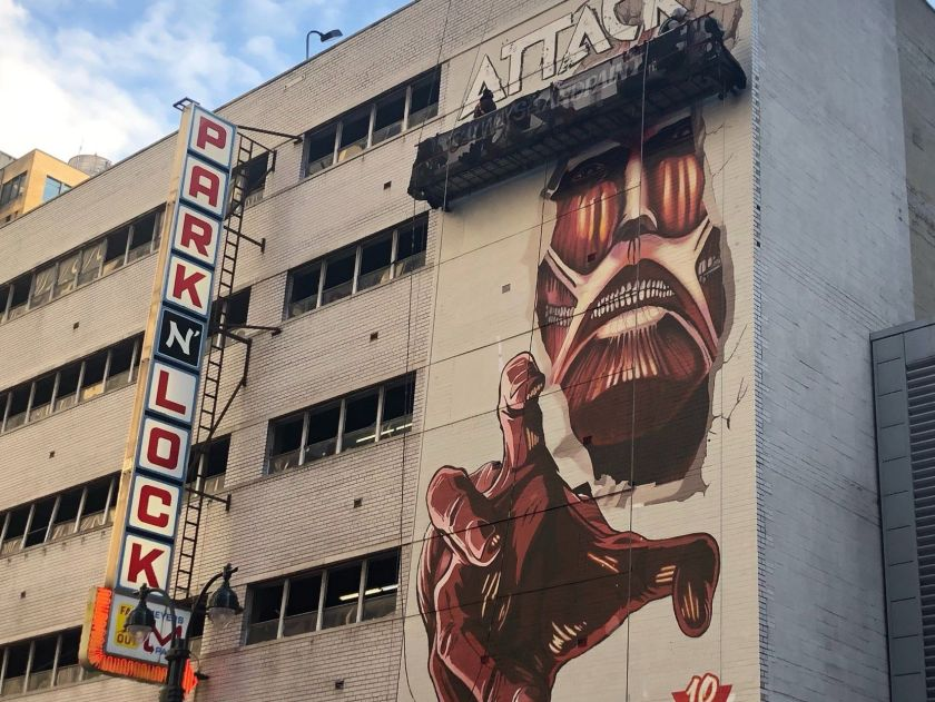 murales attack on titan