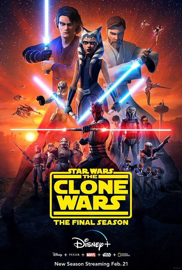 star wars clone wars 7 poster