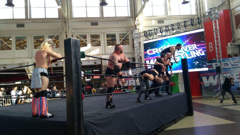 Alcuni momenti della Royal Rumble (3)