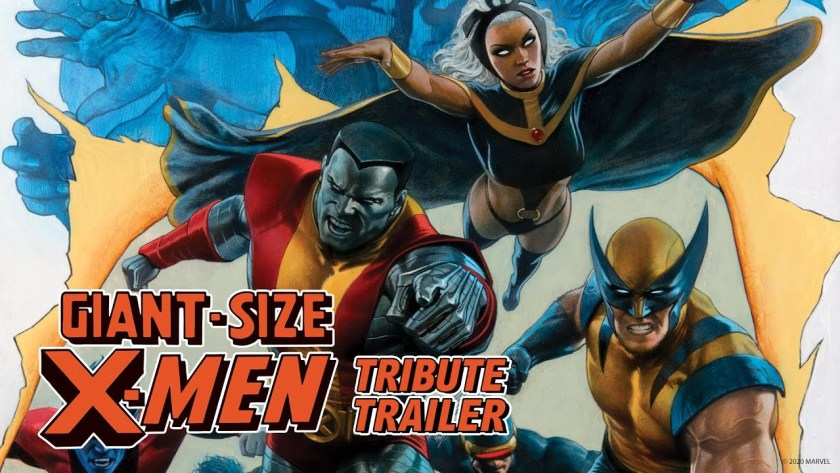 giant size x-men trailer