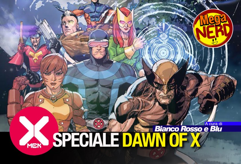 speciale dawn of x - x-men 1