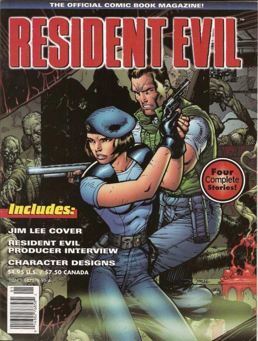 resident evil comics