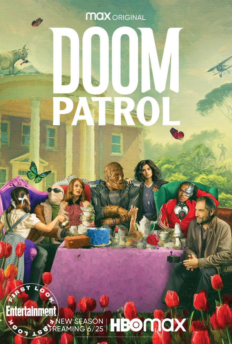 doom patrol poster hbomax