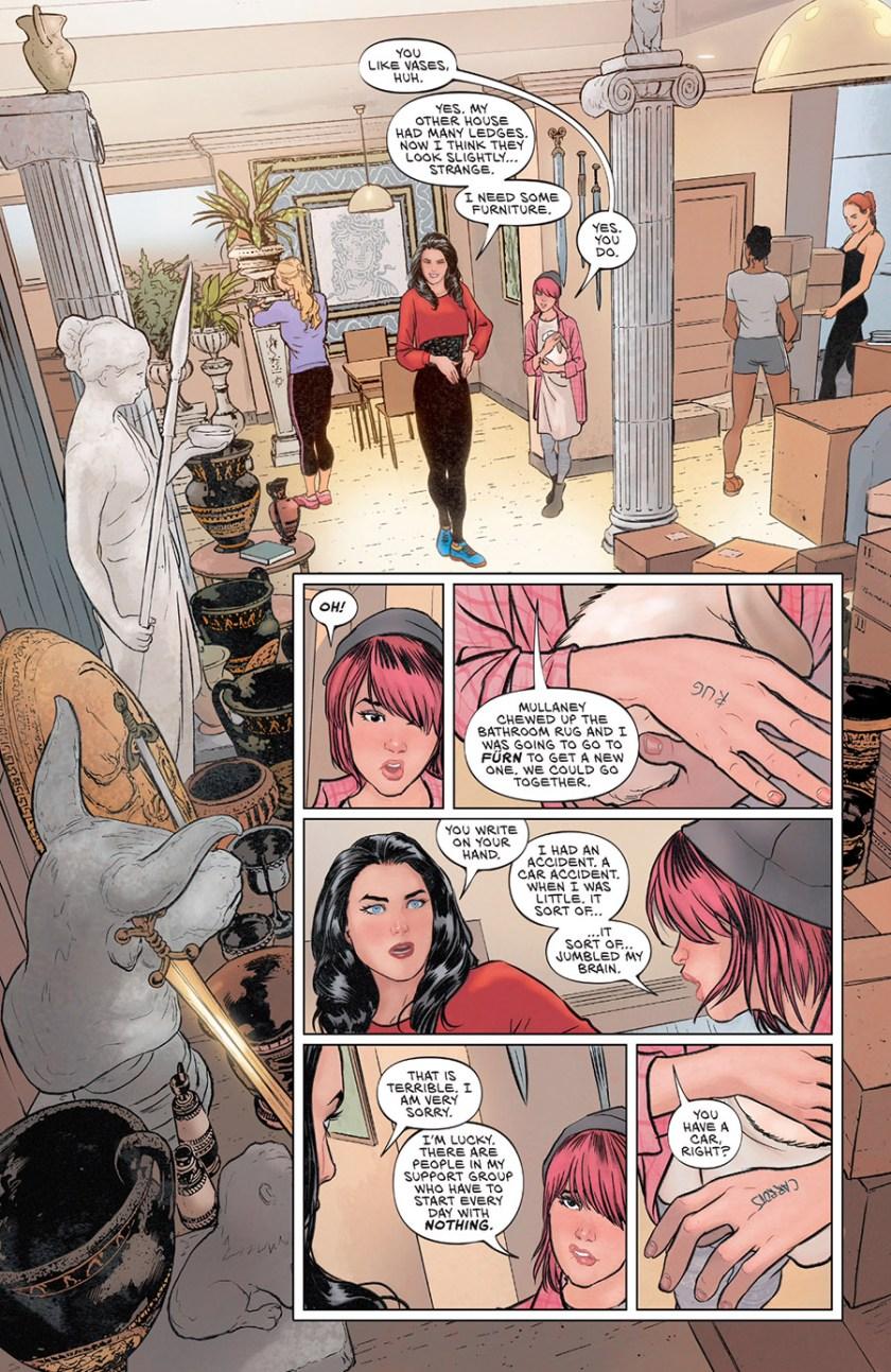 Wonder Woman Liar Liar prima apparizione
