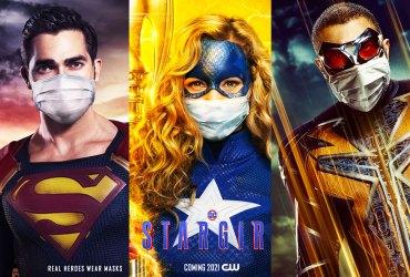 Real heroes wear masks