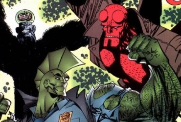 Hellboy e Savage Dragon - photo credit: web