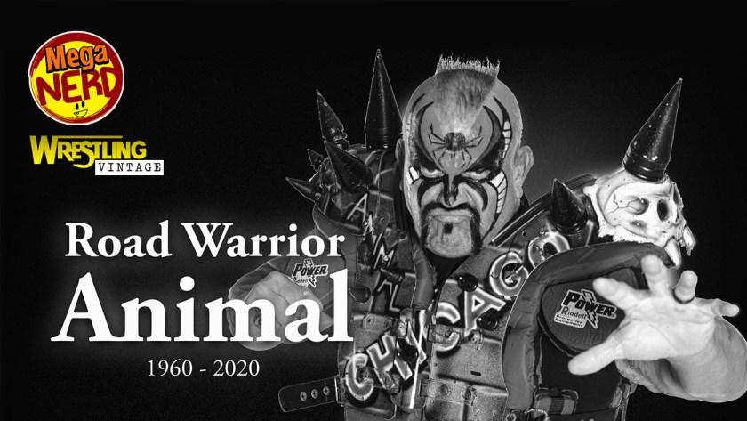 wrestling vintage animal