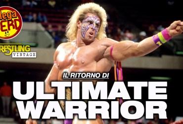 wrestling vintage il ritorno di ultimate warrior
