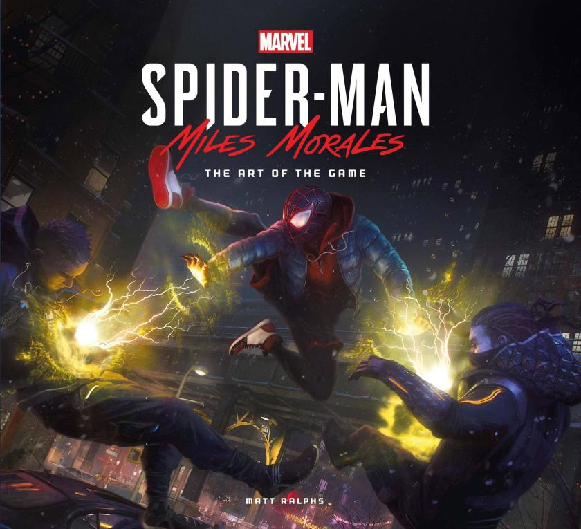 marvel's spider-man miles morales the art of the game