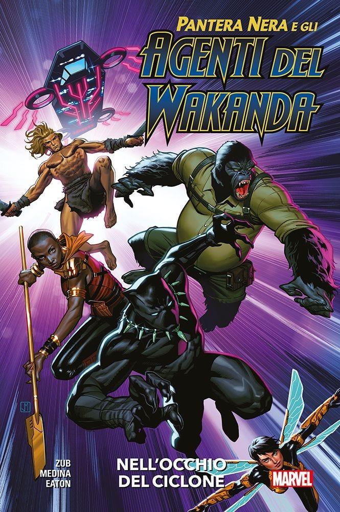 Pantera Nera e gli Agenti del Wakanda