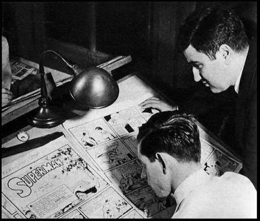 Comics: la storia segreta. Siegel e Shuster