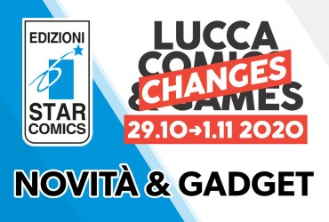 Star Comics Lucca Changes