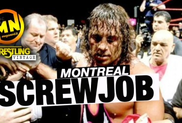 copertina wrestling vintage montreal screwjob