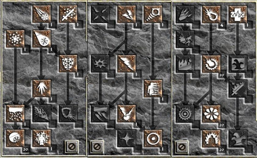 Skill Tree Project Diablo 2