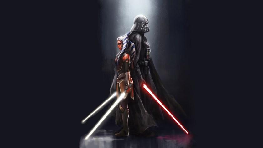 Ahsoka e Darth Vader