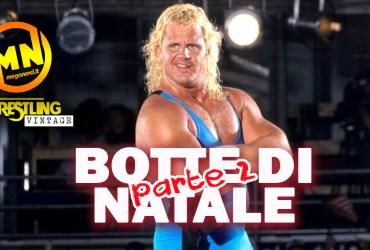 copertina wrestling vintage botte di natale 2