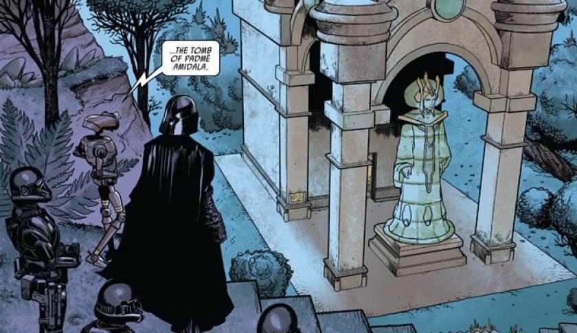 Darth Vader tomba Padmé
