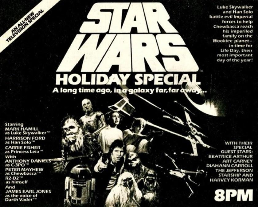 Pubblicità Star Wars Holiday Special
