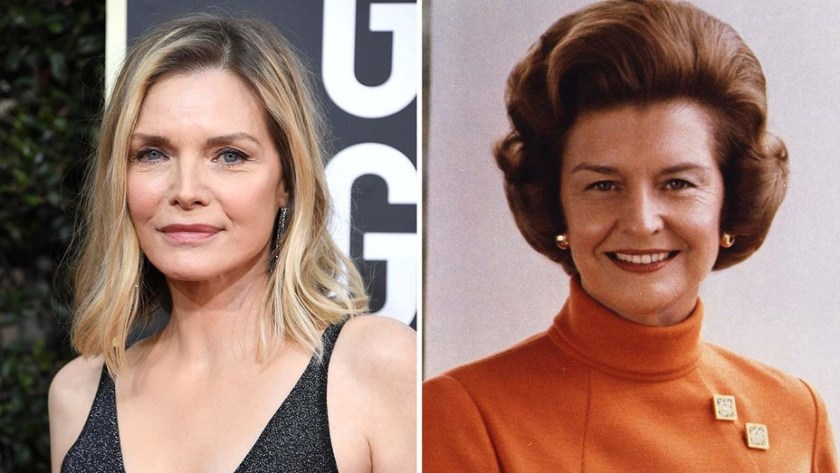 Michelle Pfeiffer sarà Betty Ford in The First Lady