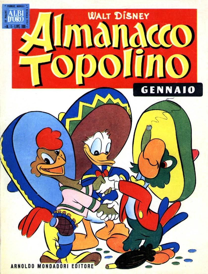 L'Almanacco di Topolino - Torna l'amata collana bimestrale