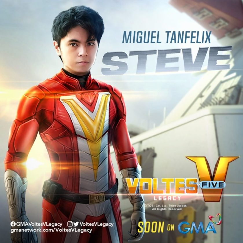 Vultus V - I protagonisti del live action in costume