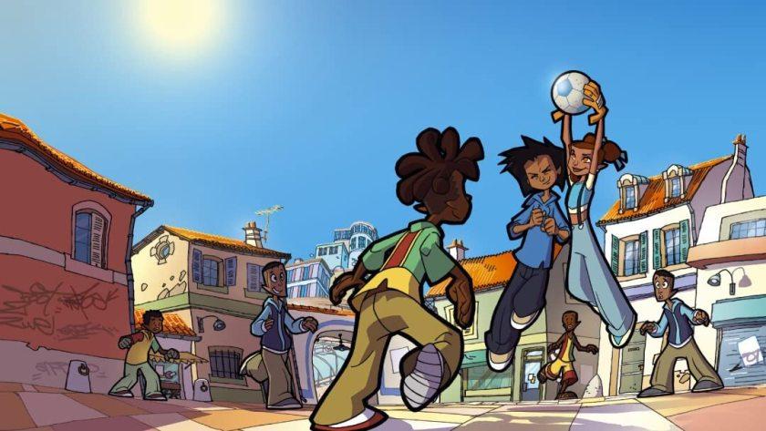 Street Football anime