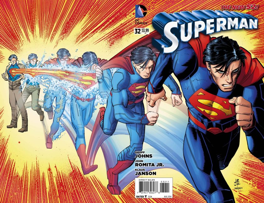 superman 32 cover