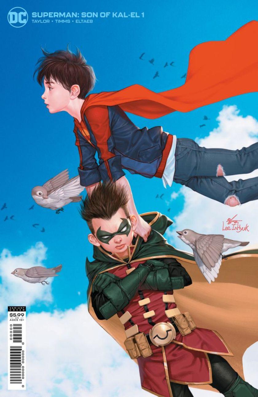 superman son of kal el 1 variant