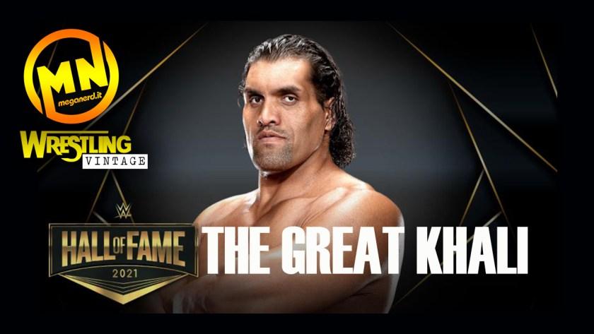 copertina wrestling vintage the great khali