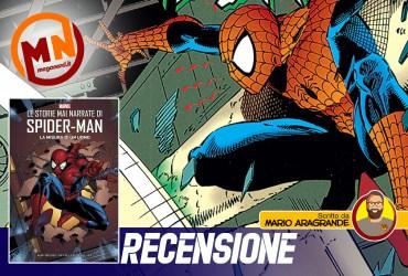 recensione le storie mai narrate di spider-man