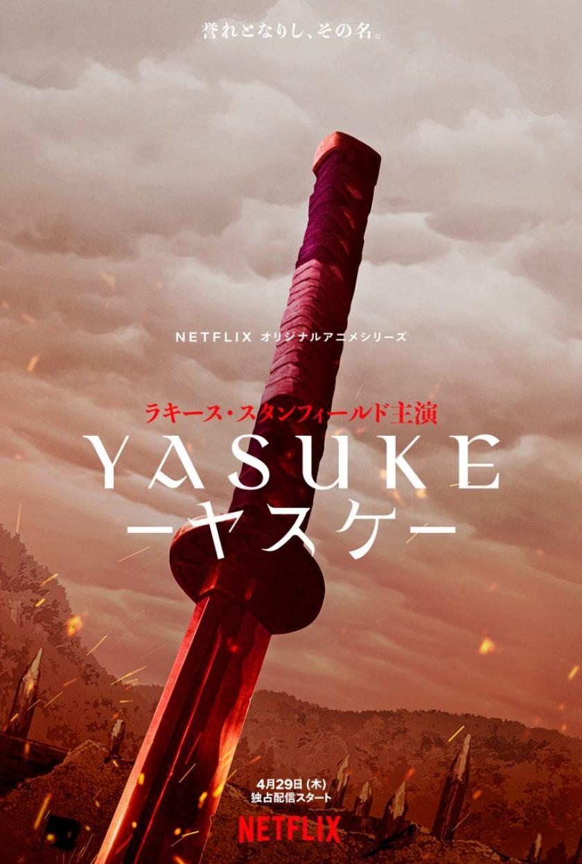 Yasuke - Trailer e visual dell'anime Netflix-Mappa