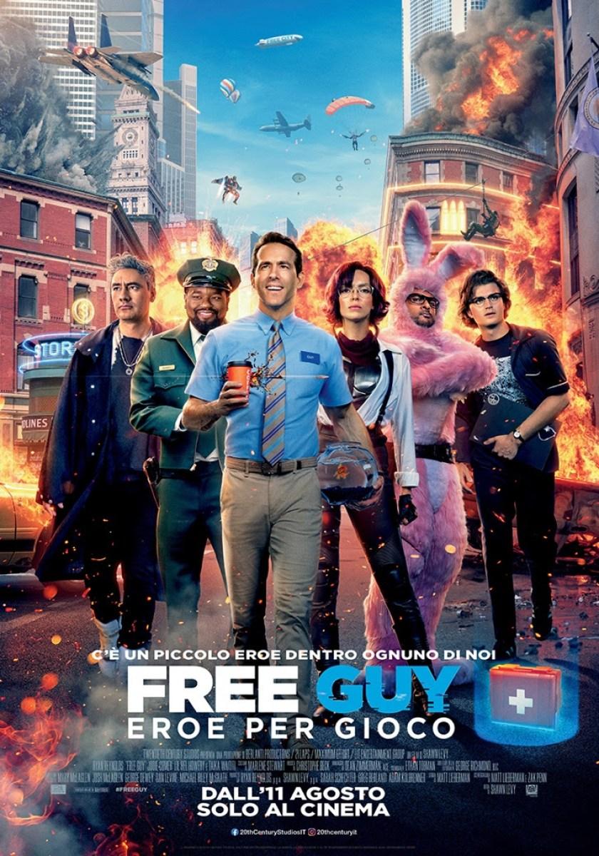 Free Guy - Eroe per gioco - Nuovi poster e trailer